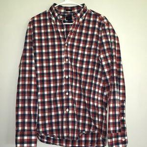 Jcrew casual button up shirt